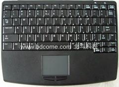 完全筆記型設計工業鍵盤帶觸摸板K88G可選2.4G無線