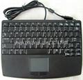 笔记型工业键盘带触摸板可选2.4G无线