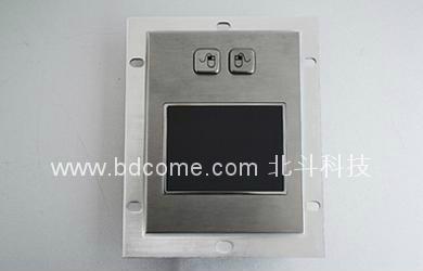 工业不锈钢金属轨迹球 或 触控鼠标控制器