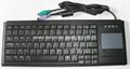 笔记型工业键盘带触摸板K88B