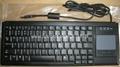 德國確勵標準尺寸鍵盤帶觸摸板G84-4400