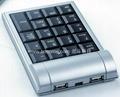 Laptop USB keypad wired & wireless series & HUB & LCD Display & Calculator 3