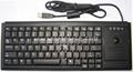 德国确励标准G84-4400尺寸工业键盘带轨迹球