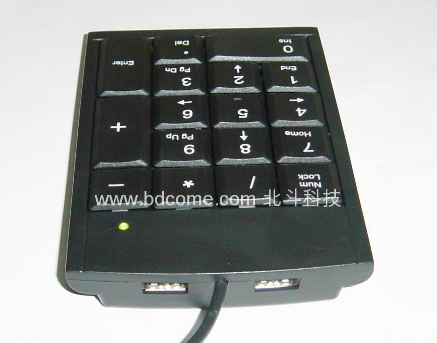 Laptop USB keypad wired & wireless series & HUB & LCD Display & Calculator 4