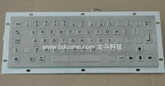 不锈钢金属工业键盘KB6C