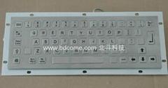 不鏽鋼金屬工業鍵盤KB6C