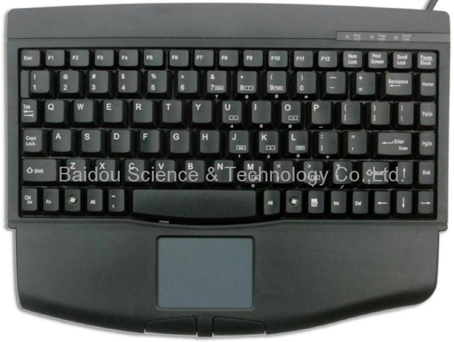 工业键盘带触摸板