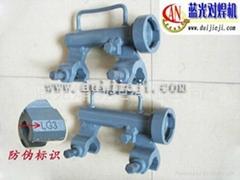 2011款鋼觔氣壓焊機新三型卡具
