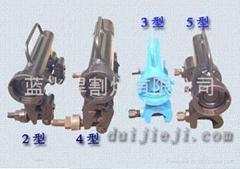 鋼觔氣壓焊機QY32-1型卡具