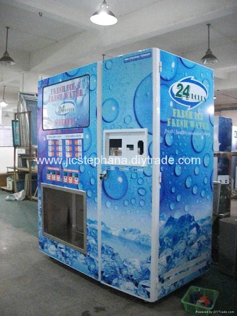 Ice Water Combo Vending Machine Jm4508a