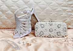 evening bridal shoes
