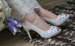 新娘水晶鞋