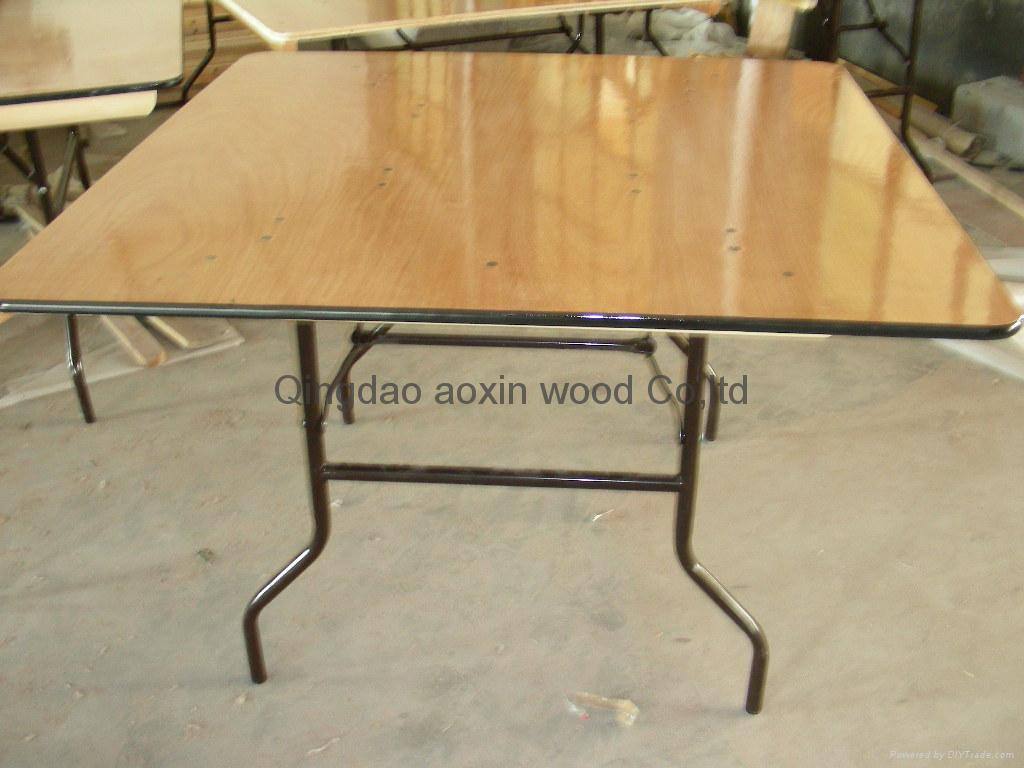 Elegant Square Folding Table 1