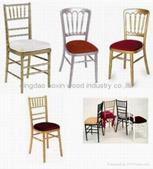 Banquet chivari chair