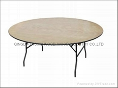 Folding Table-Round