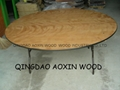 "72"" Round Table With PVC Edge"