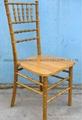 Natural chivari chairs