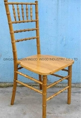 Natural chivari chairs