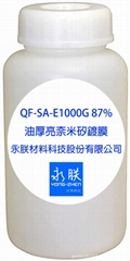 87% of the oil thick bright nm silicon coating