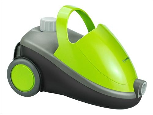 Mobile steam cleaner with wheel 1