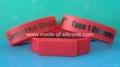 USB silicone wristbands