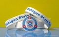 Silk Screened Silicone Wristbands