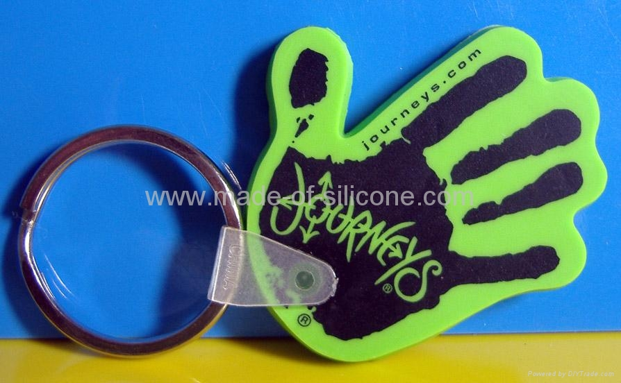 PVC Rubber Keychain 2