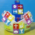 Watch Shape Color Filled Silicone Wristbands