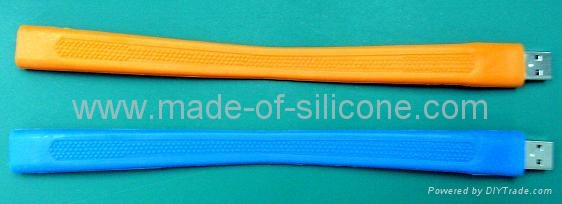 USB silicone wristbands 4