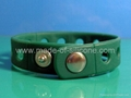 Silicone Wristbands With Holes
