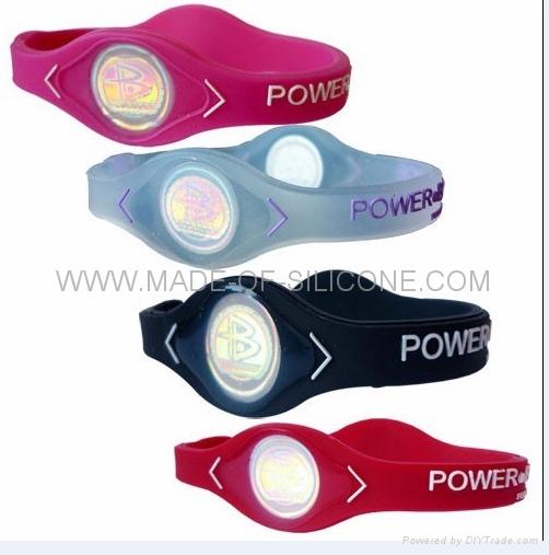 Power balance silicone wristbands 2