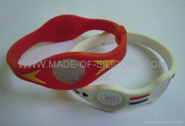 Power balance silicone wristbands 4