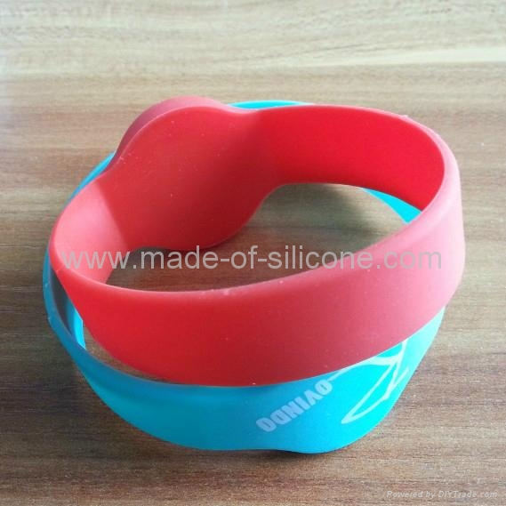 RFID Silicone Wristbands 2