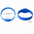 RFID Silicone Wristbands 3