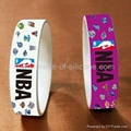 High Definition  Printing Silicone Wristbands 2
