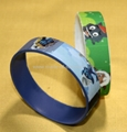 High Definition  Printing Silicone Wristbands 3