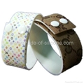 High Definition  Printing Adjustable Silicone Wristbands