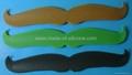 Mustache Silicone Slap wristband /Cramp wristband 3