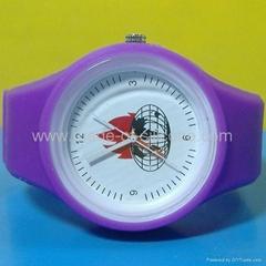 Jelly Watch with customized logo
