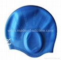 Silicone Swimming Caps - Ear Safe