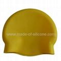 Silicone Swimming Caps - no edge