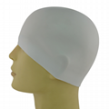 Silicone Swimming Caps - no edge