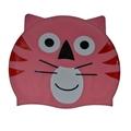 Cat Silicone Swimming  Caps
