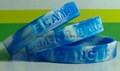 Swirled Color Debossed Silicone Wristbands 7
