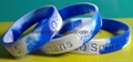 Swirled Color Debossed Silicone Wristbands 6
