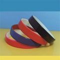 12mm Color coated silicone wristbands  1