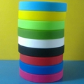 12mm Blank Silicone Wristbands