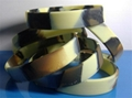 Camouflage Color Deboosed Silicone Wristband  6