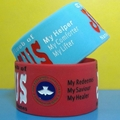 46 mm big Silicone Wristbands 2