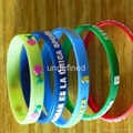 12 mm Braille Silicone Wristbands